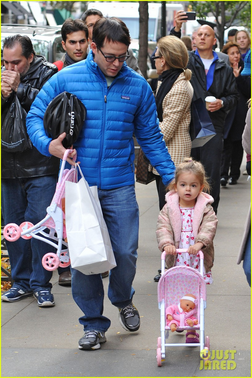 sarah jessica parker matthew broderick lunch with twins 012750843