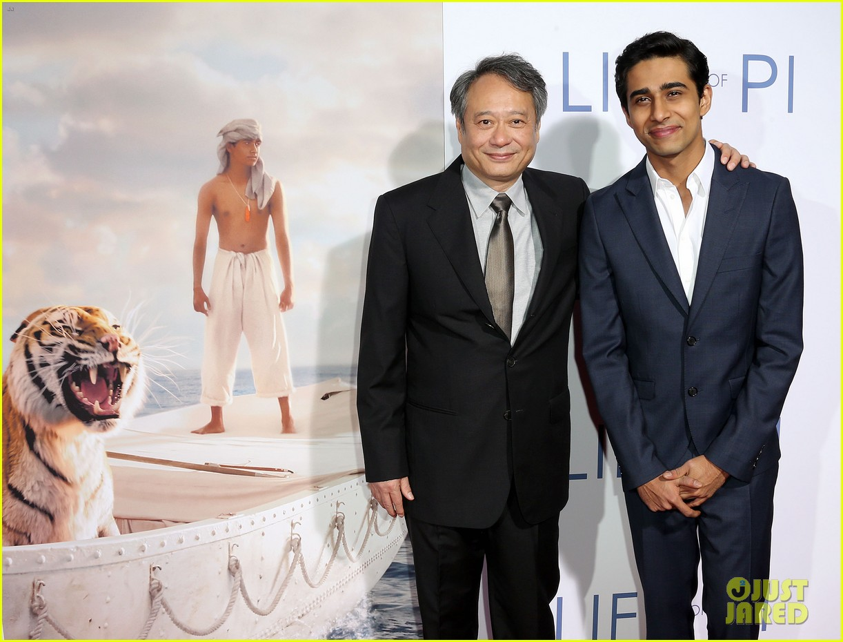 aaron paul suraj sharma life of pi special screening 052759659