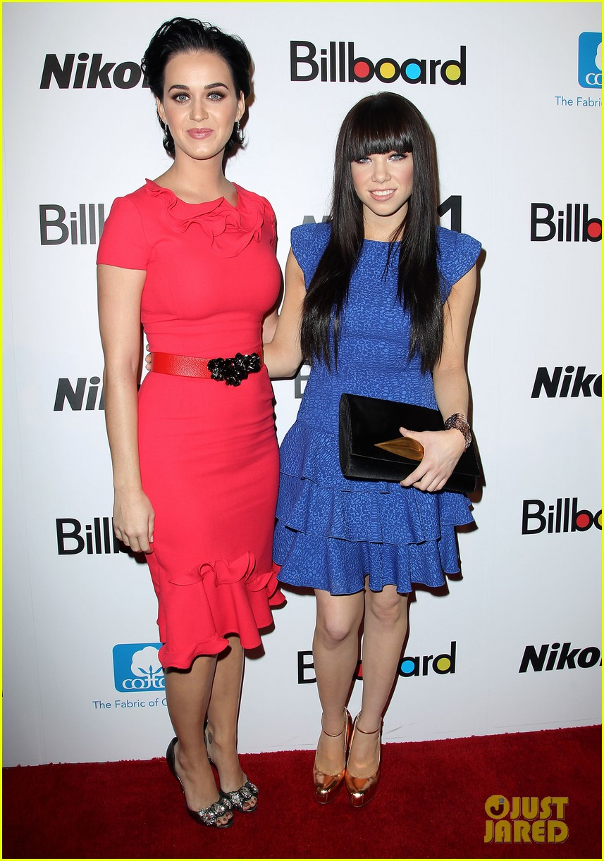 katy perry carly rae jepsen billboard women in music luncheon 072766874