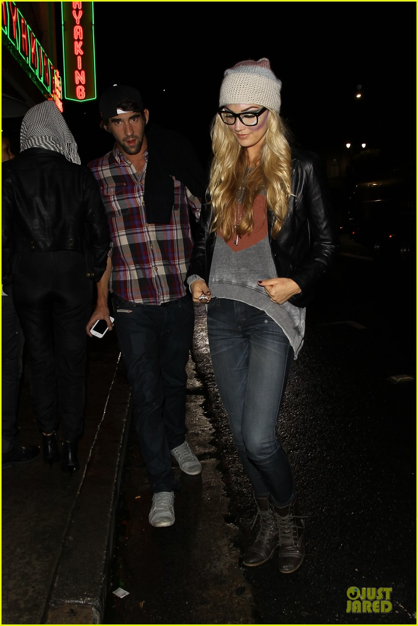 michael phelps megan rossee sayers club date 062759489
