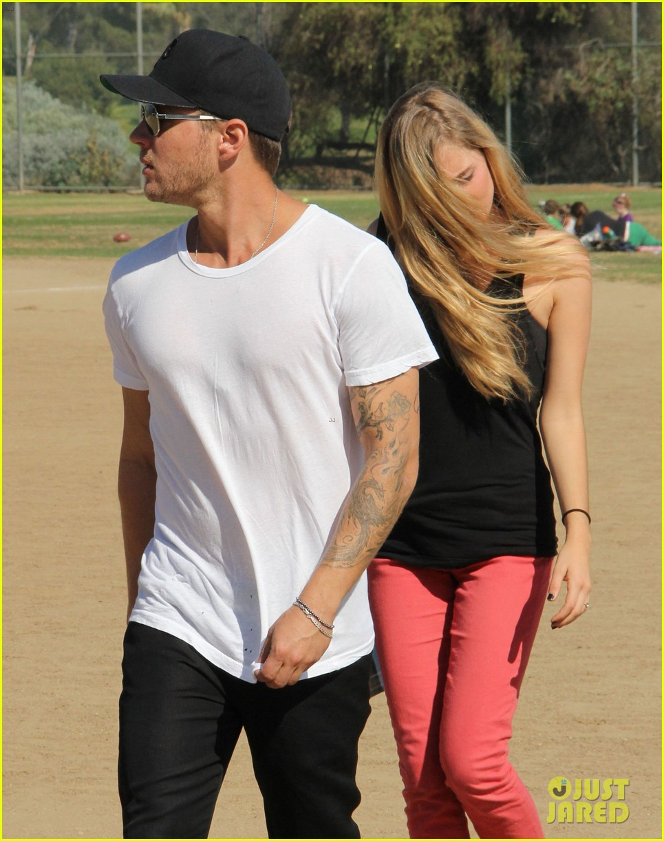 ryan phillippe deacons soccer game with paulina slagter 132750497