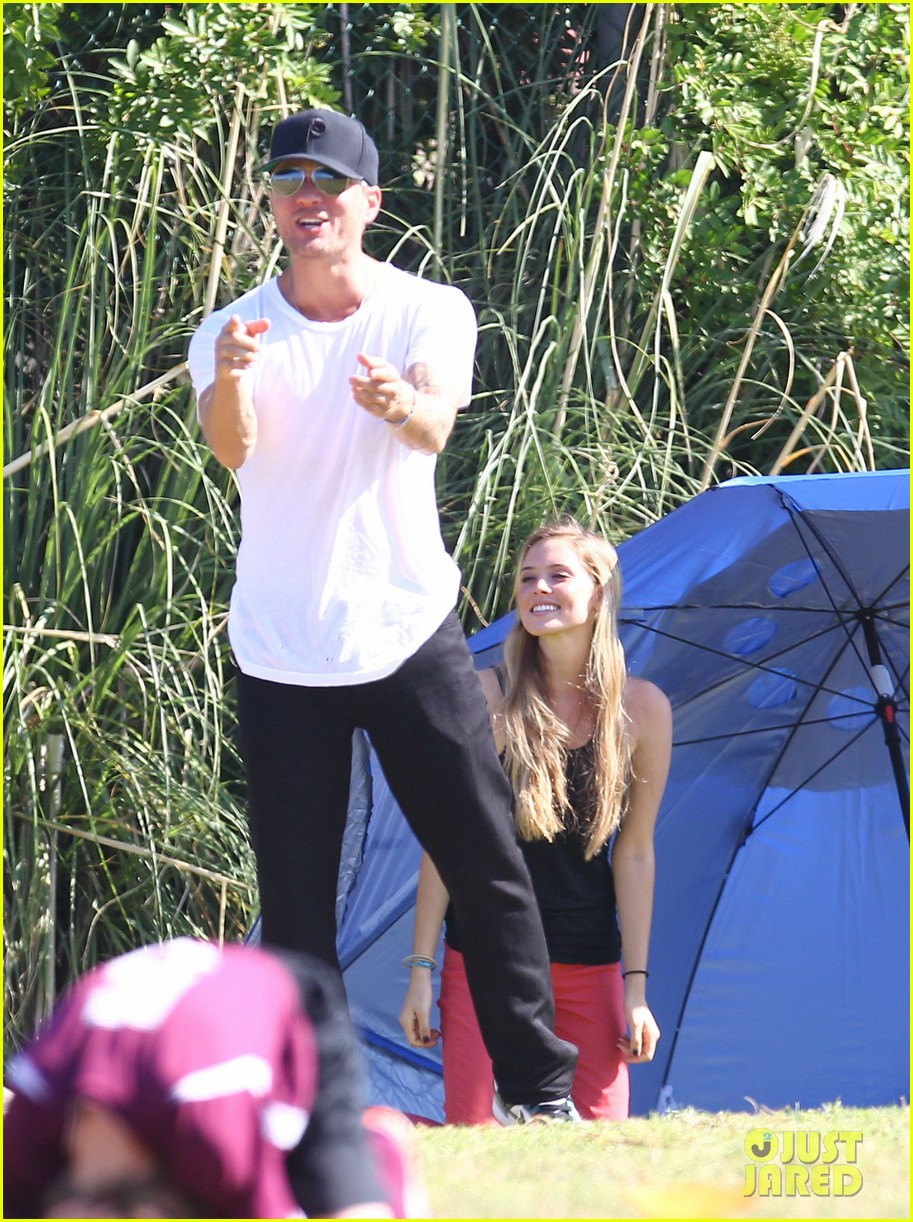 ryan phillippe deacons soccer game with paulina slagter 232750507