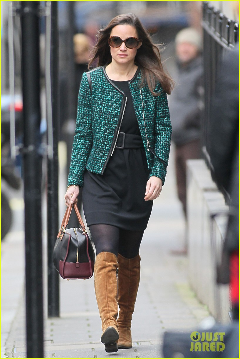 pippa middleton stylish london lady 212762898