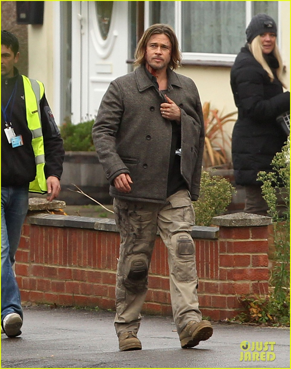 brad pitt world war z reshoots 05