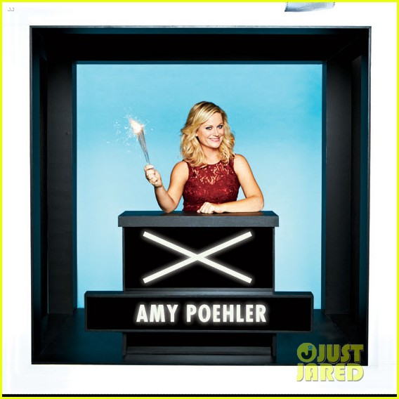amy poehler hollywood squares with parks rec cast 032762469