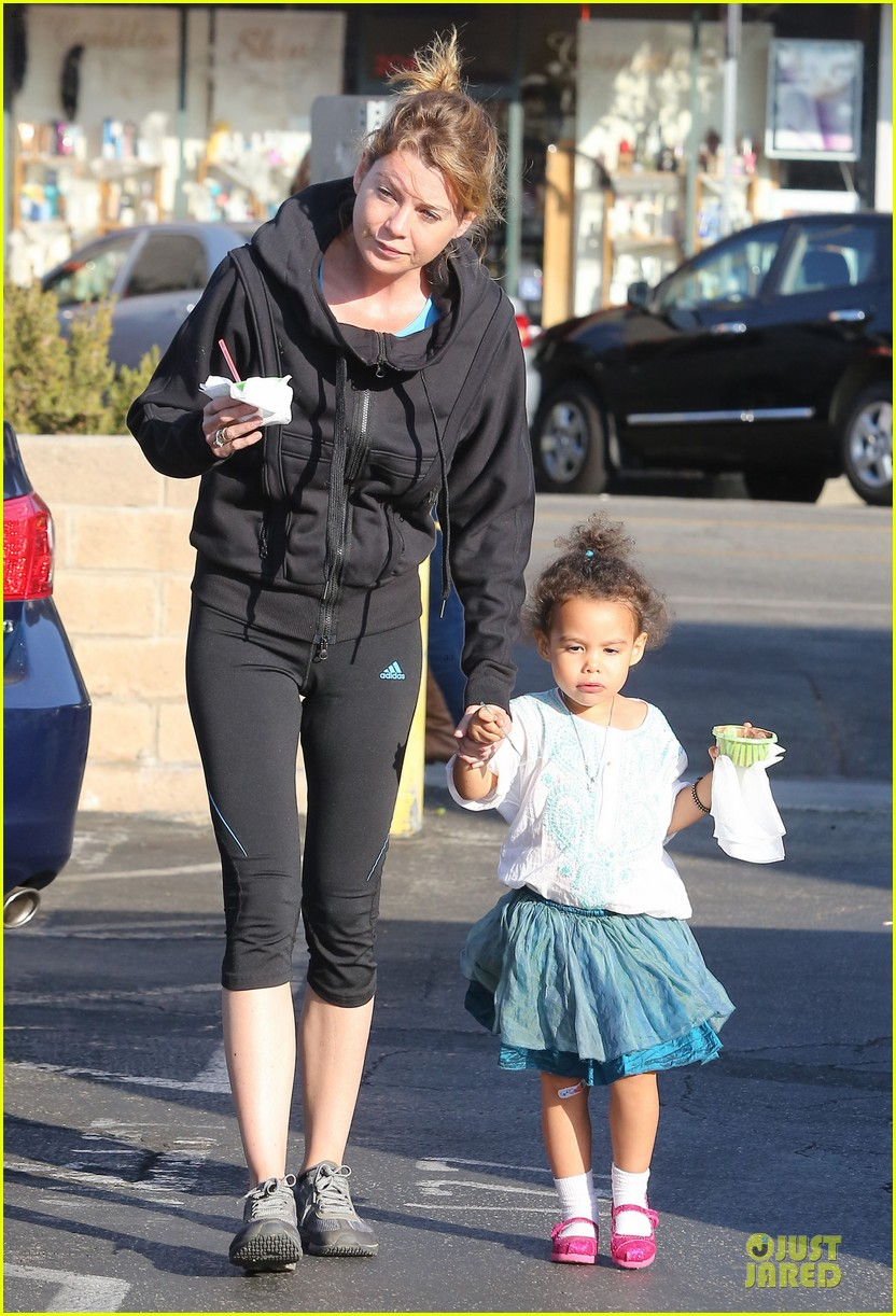 ellen pompeo stella ice cream duo 09