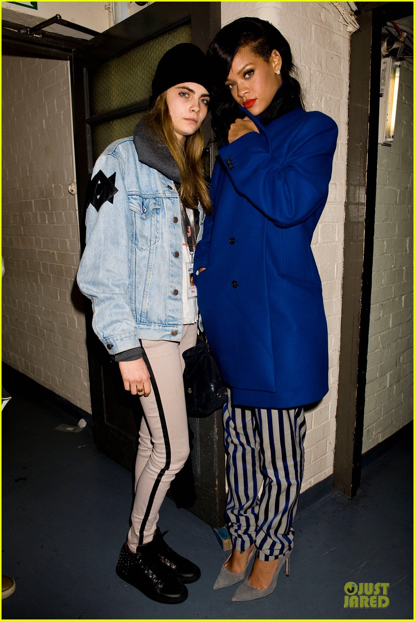 rihanna 777 tour hits london with cara delevingne exclusive 09