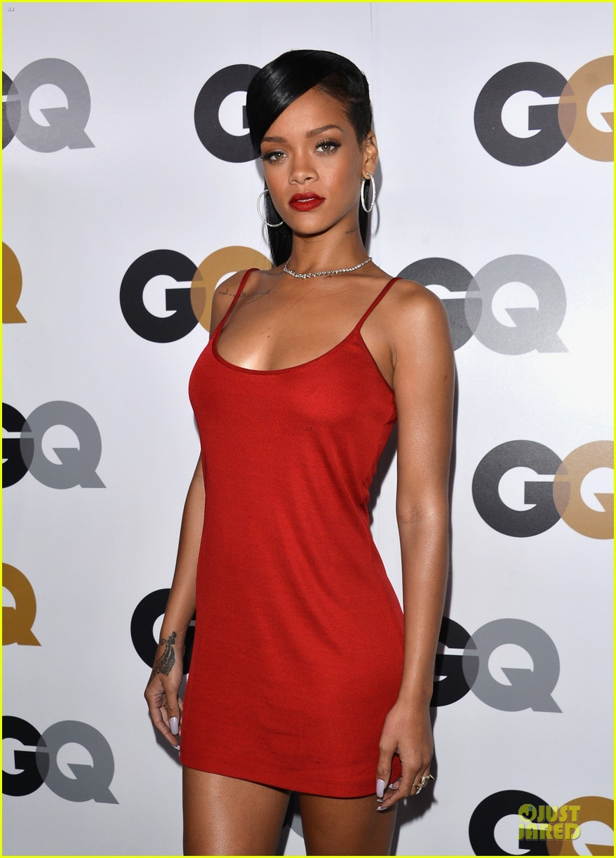 rihanna gq man of the year party 022757122