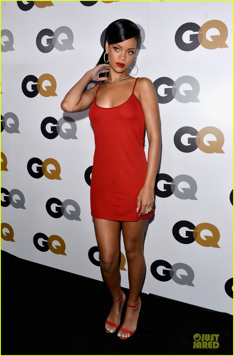 rihanna gq man of the year party 032757123