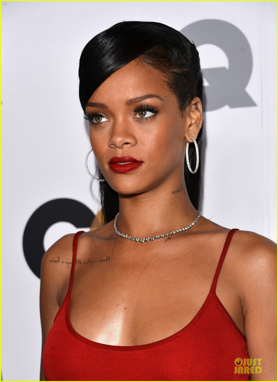 rihanna gq man of the year party 042757124