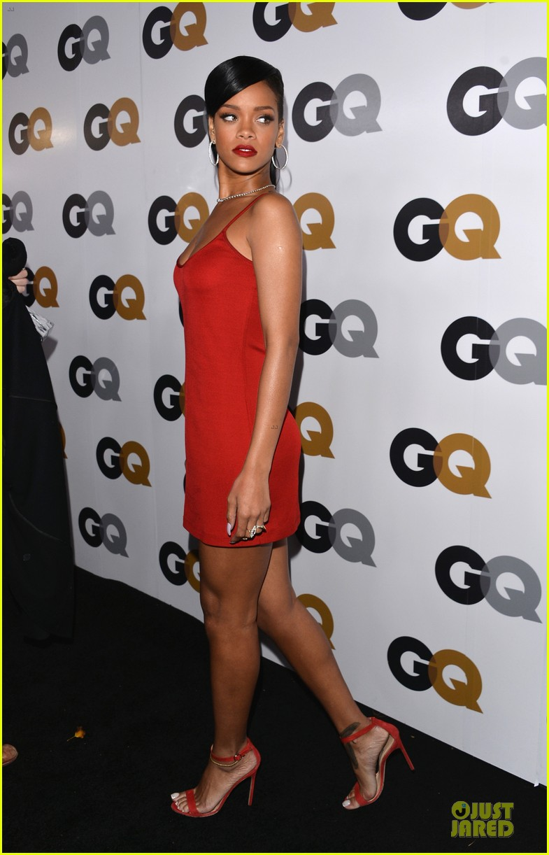 rihanna gq man of the year party 052757125