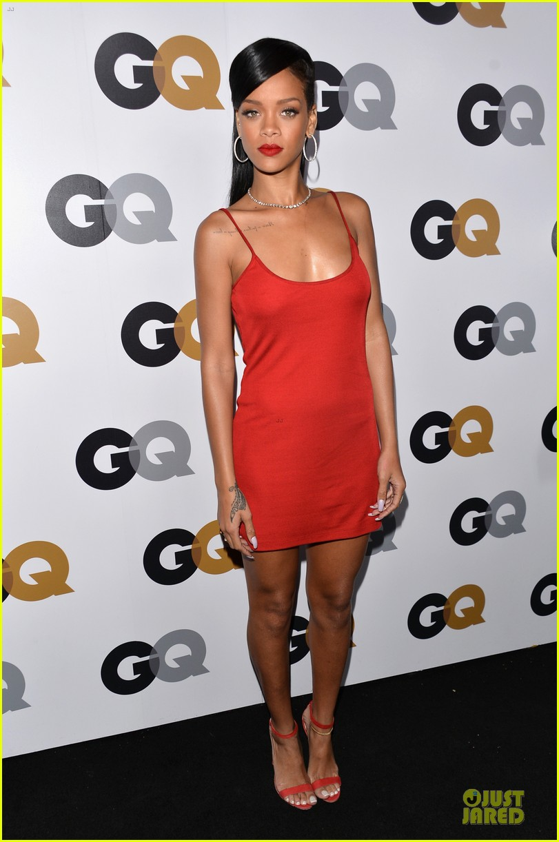 rihanna gq man of the year party 062757126