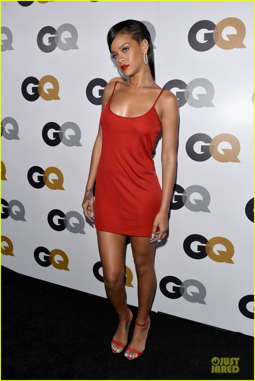 rihanna gq man of the year party 082757128