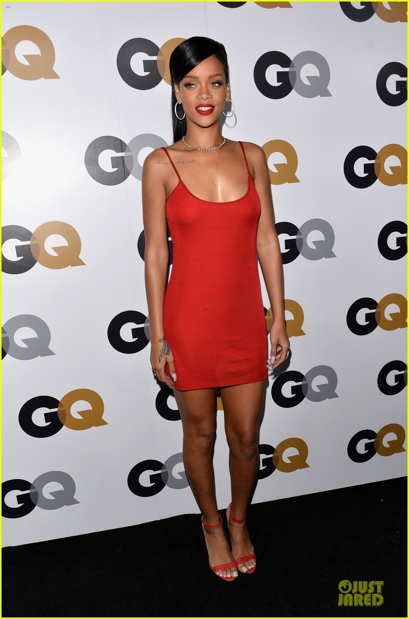 rihanna gq man of the year party 09