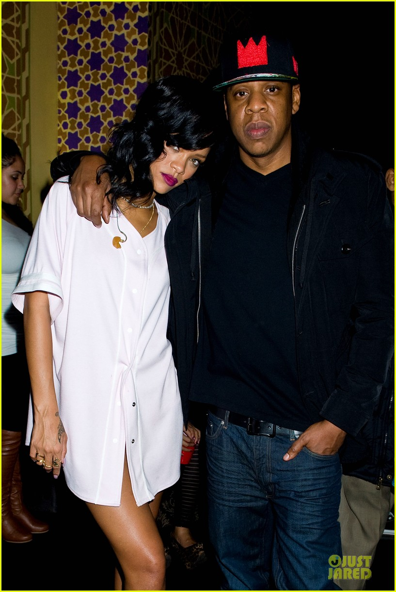 rihanna 777 tour wraps in nyc with jay z exclusive 022761967