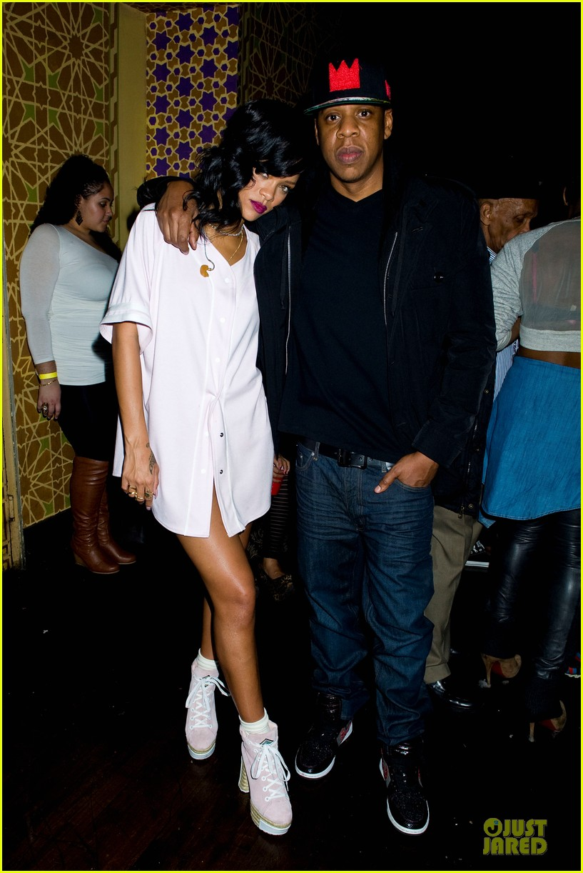 rihanna 777 tour wraps in nyc with jay z exclusive 092761974