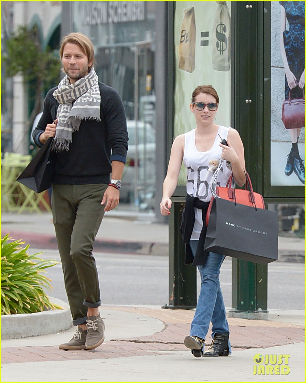 emma roberts 666 t shirt shopping spree 042754232