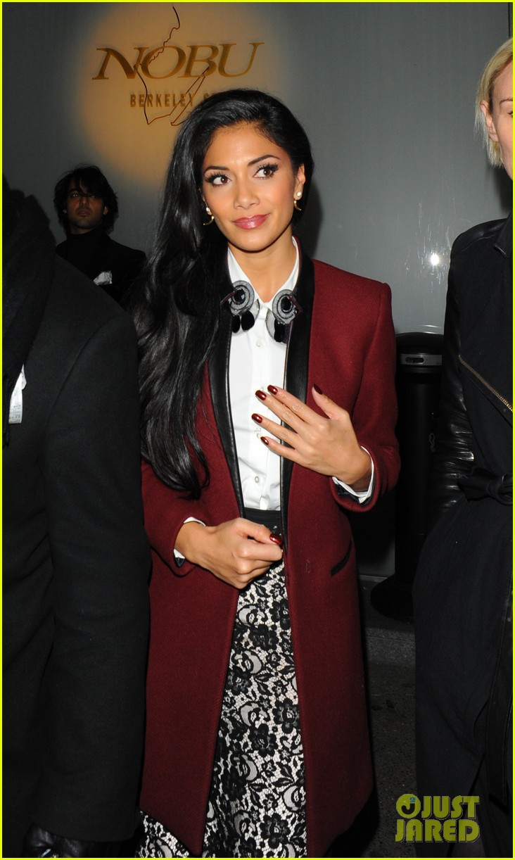 nicole scherzinger night out at nobu 01