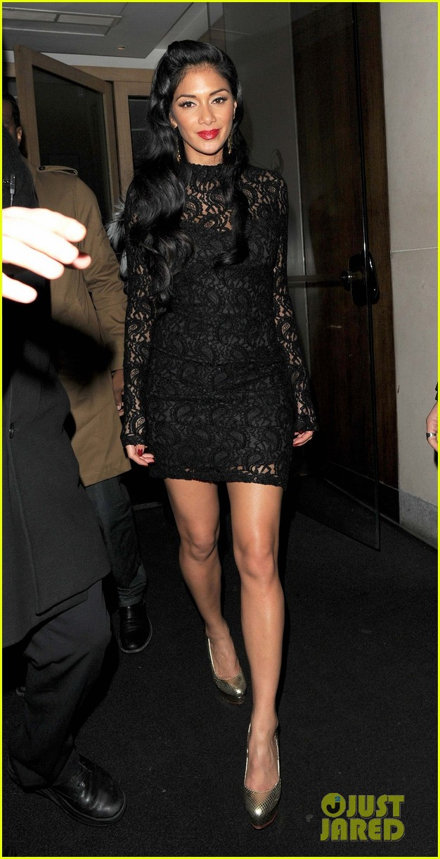 nicole scherzinger nobu night out 03