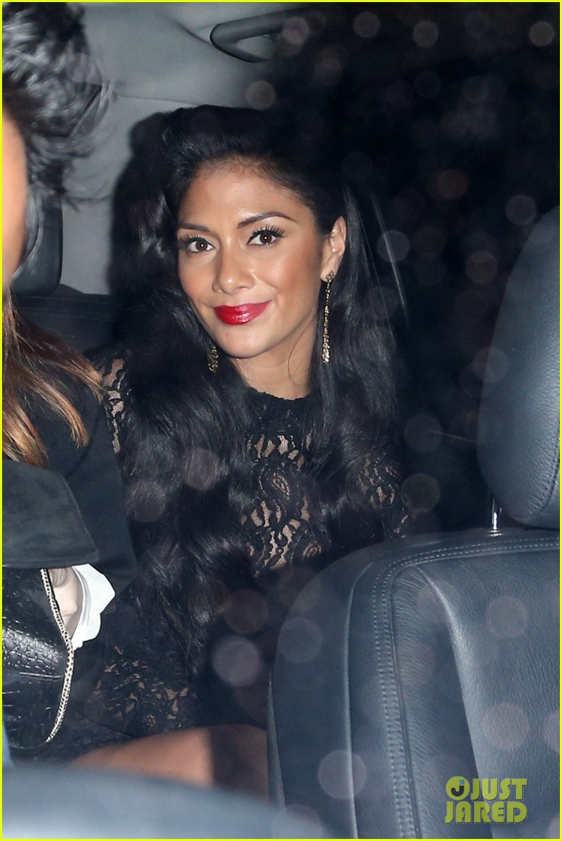 nicole scherzinger nobu night out 05