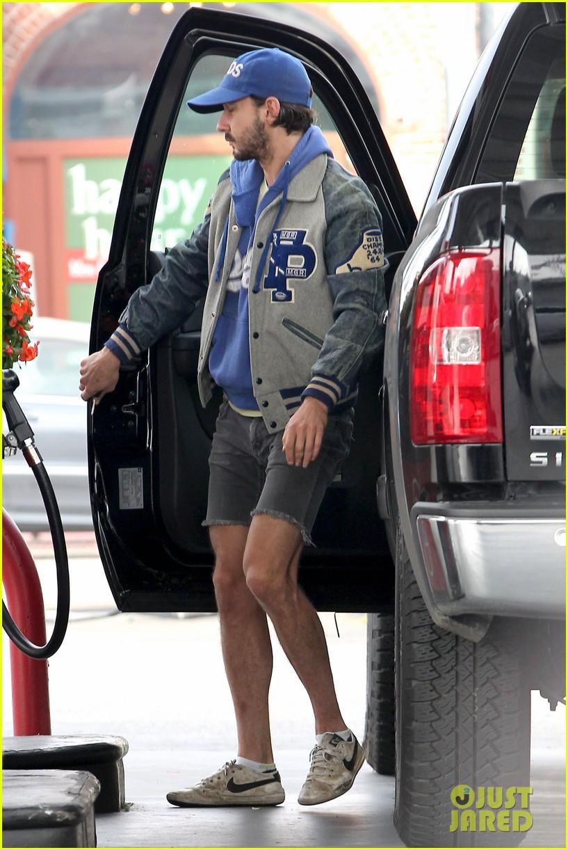 shia labeouf cutoff short shorts in hollywood 052765323