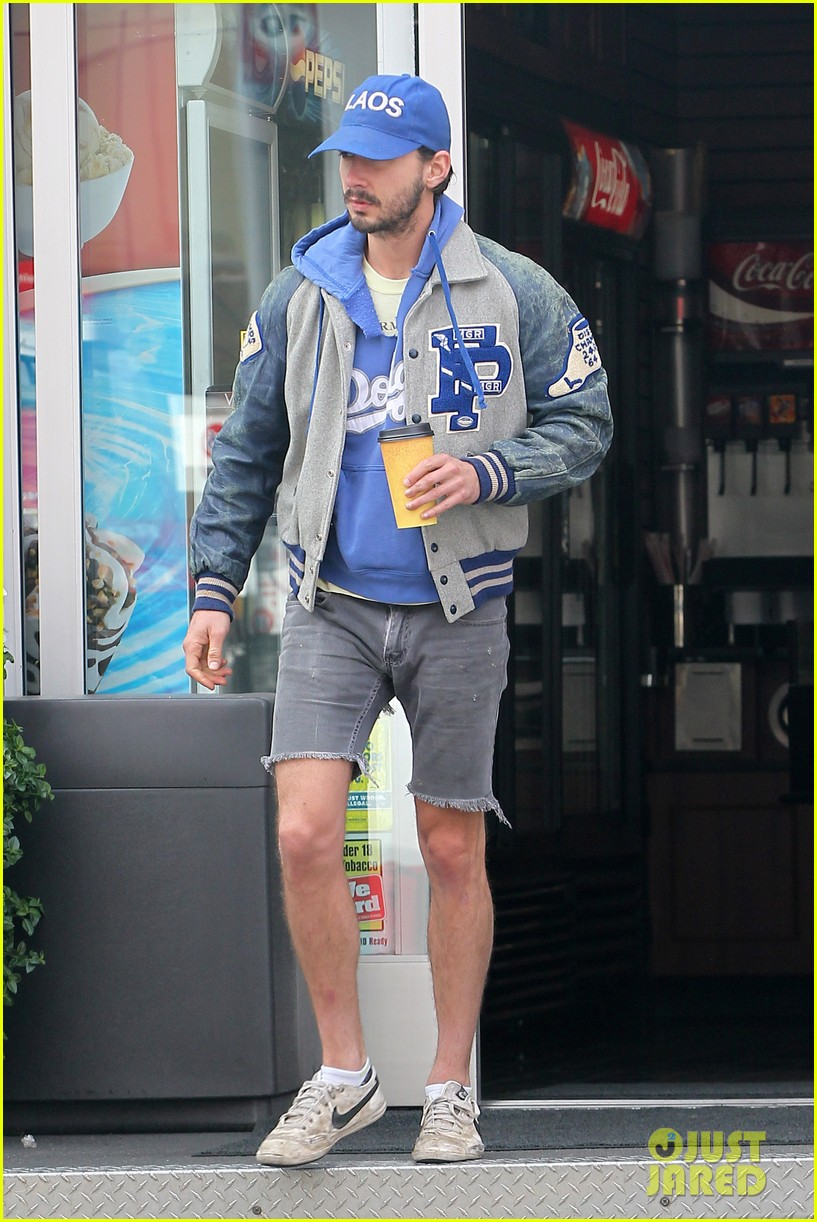 shia labeouf cutoff short shorts in hollywood 10