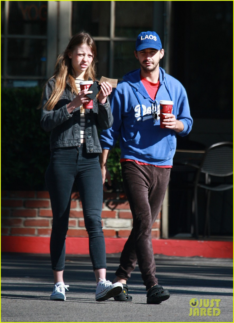 shia labeouf mia goth thanksgiving 02