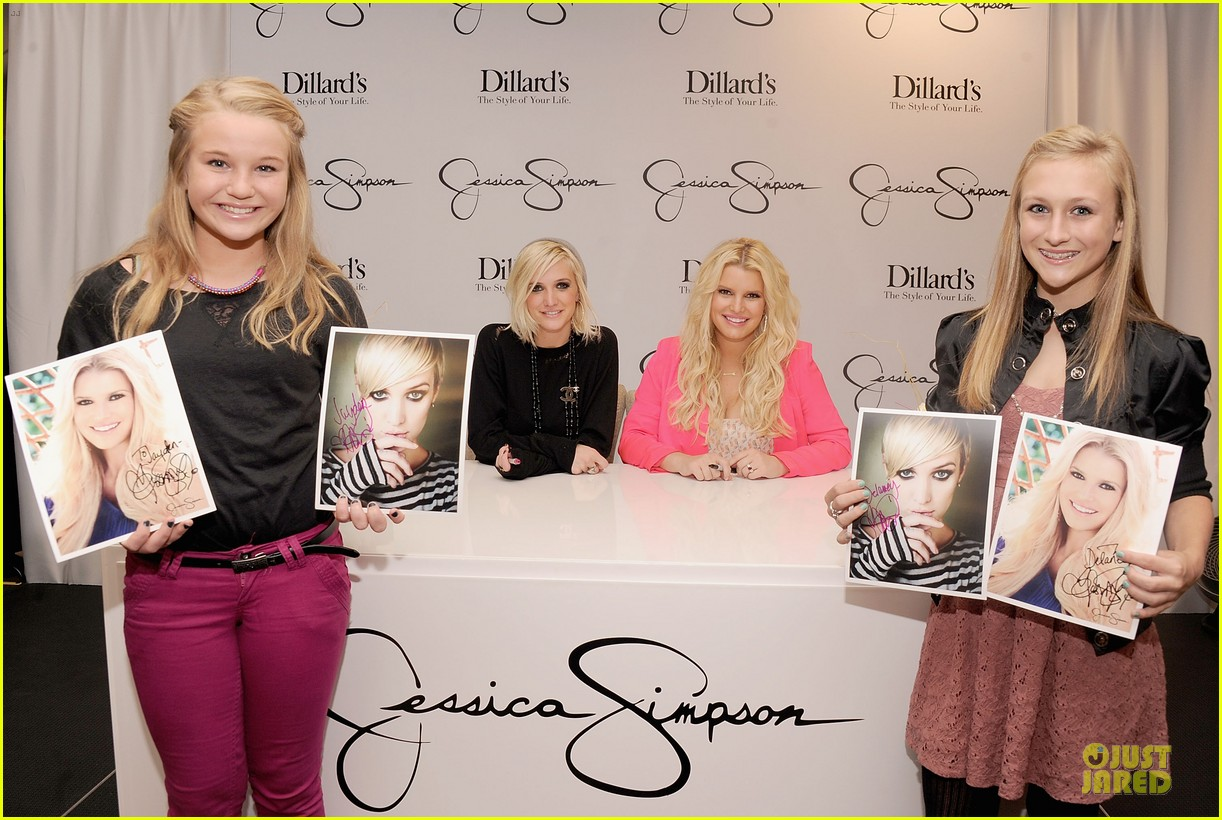 jessica simpson ashlee simpson jessica simpson collection promotion in florida 08