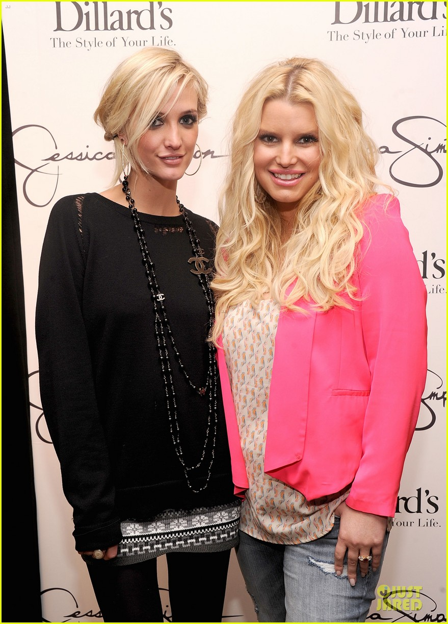 jessica simpson ashlee simpson jessica simpson collection promotion in florida 142759610