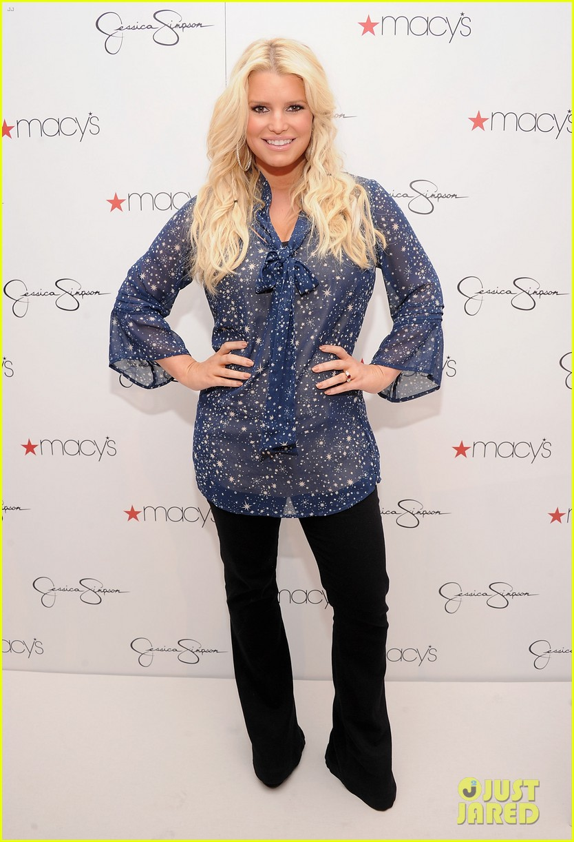 jessica simpson macys collection launch with ashlee 012754983