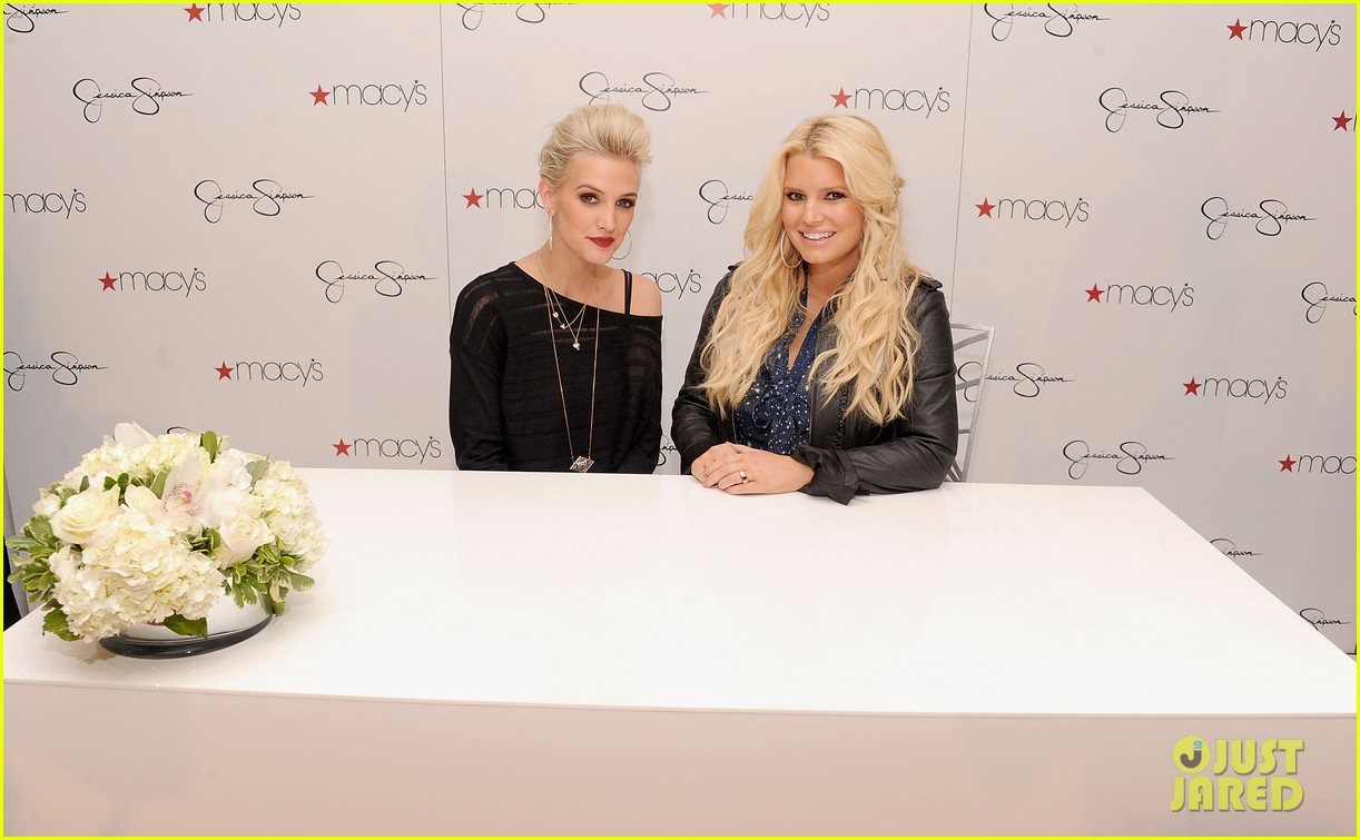 jessica simpson macys collection launch with ashlee 042754986