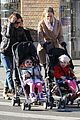 sarah jessica parker brisk morning walk with the kids 06