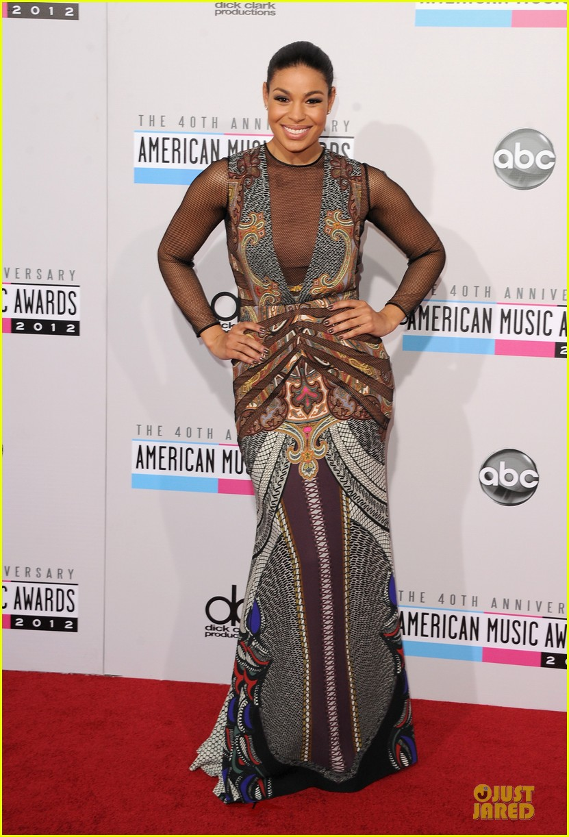 Jordin Sparks Amp Jason Derulo Amas 2012 Red Carpet Photo