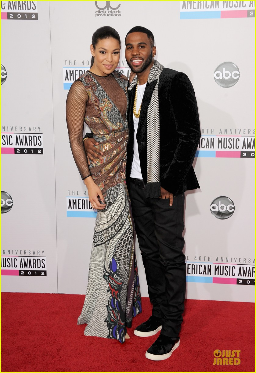jordin sparks jason derulo ama 2012 red carpet 102760161