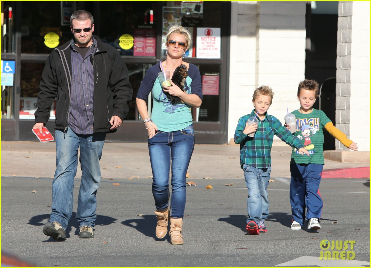 britney spears coffee bean with sean preston jayden james 272760661