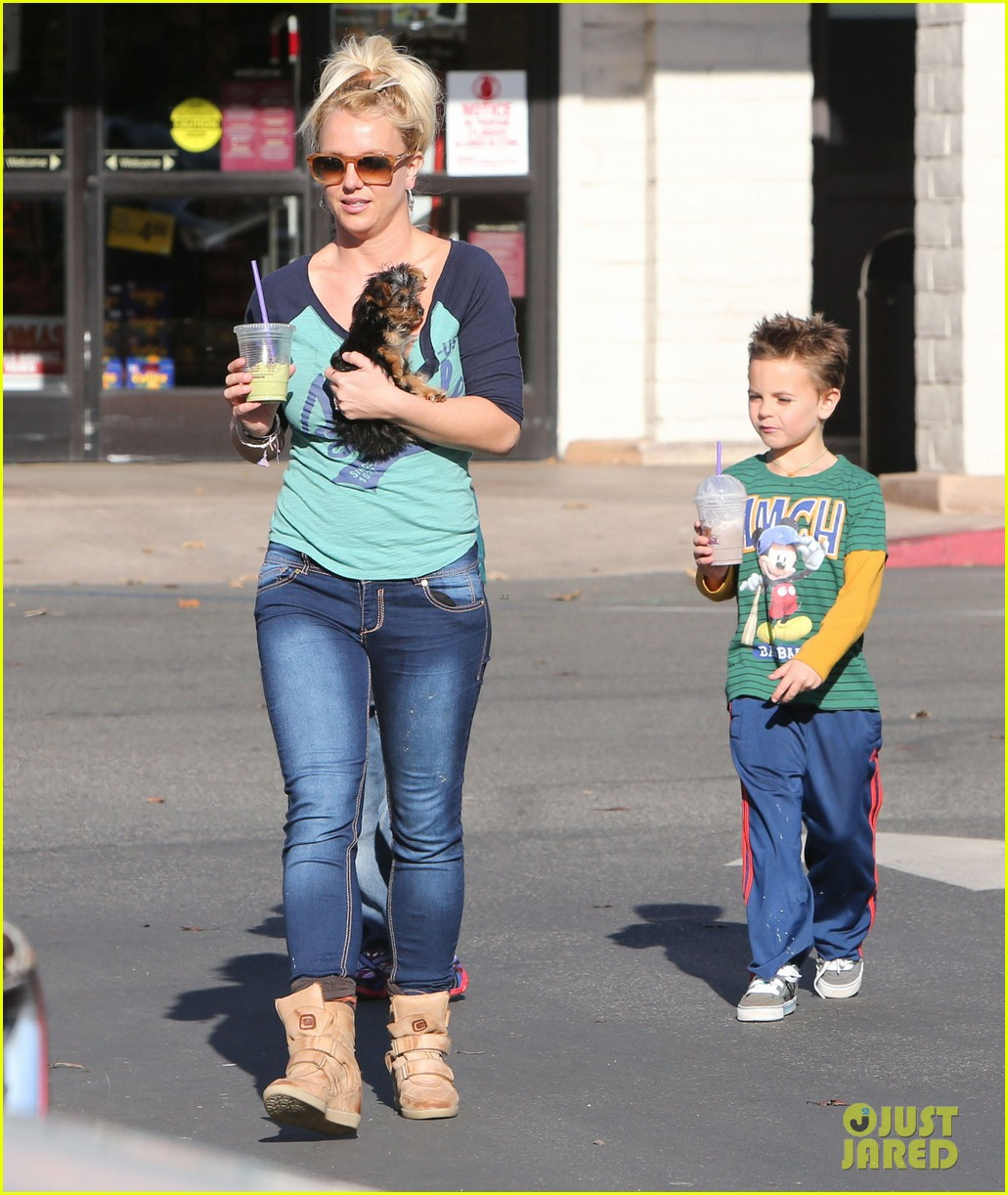 britney spears coffee bean with sean preston jayden james 292760663