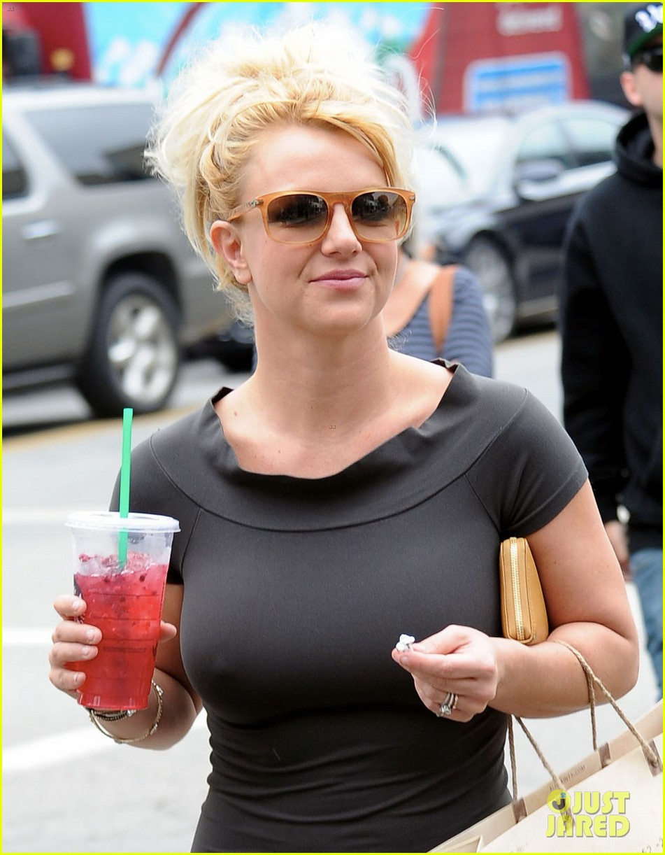 britney spears pre x factor starbucks stop 042758358
