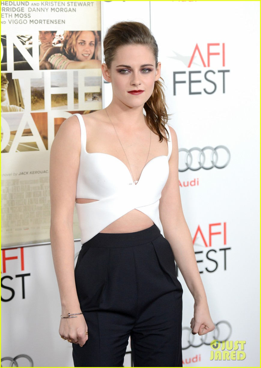 kristen stewart on the road afi screening 072750711