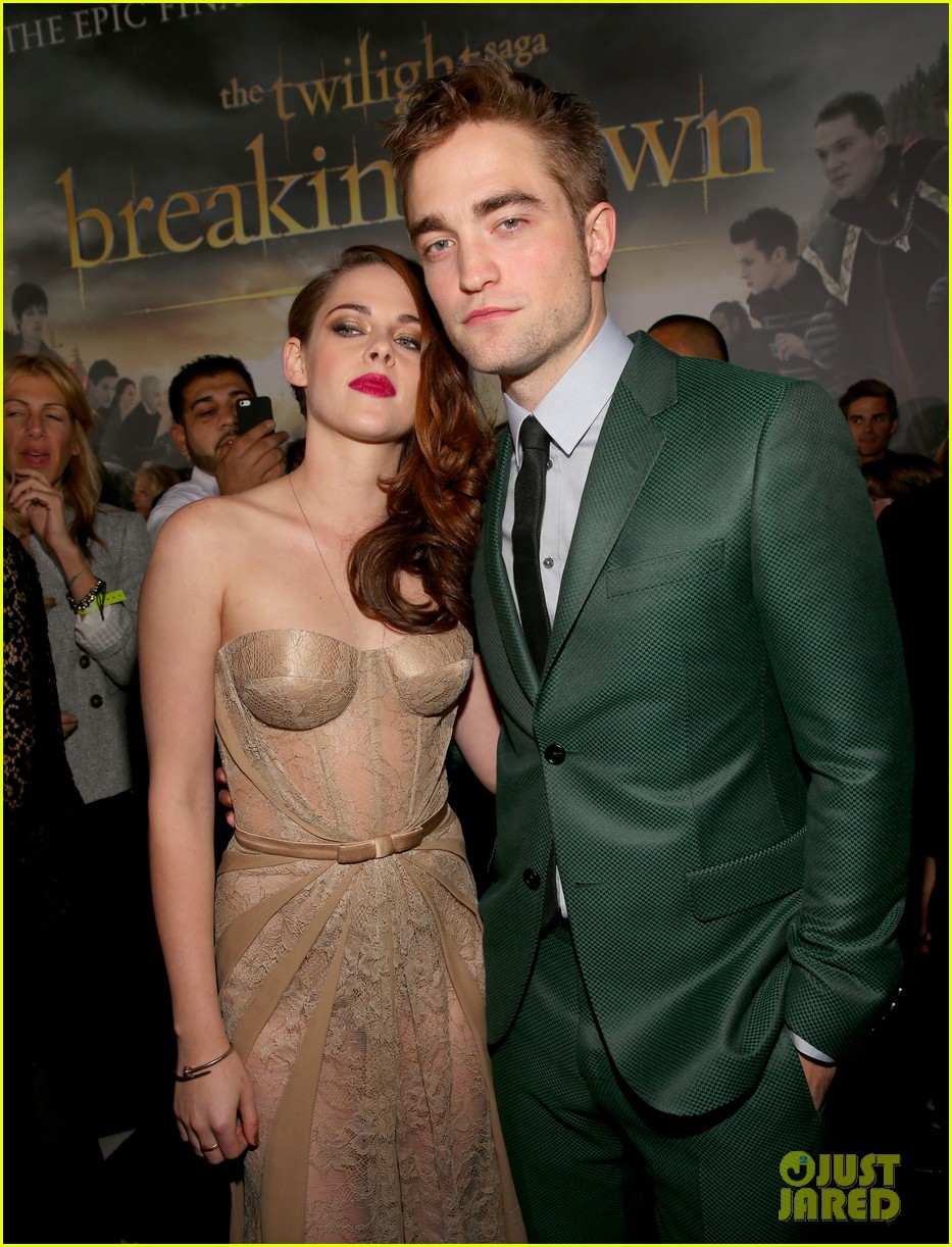 kristen stewart robert pattinson twilight breaking dawn part 2 premiere 10