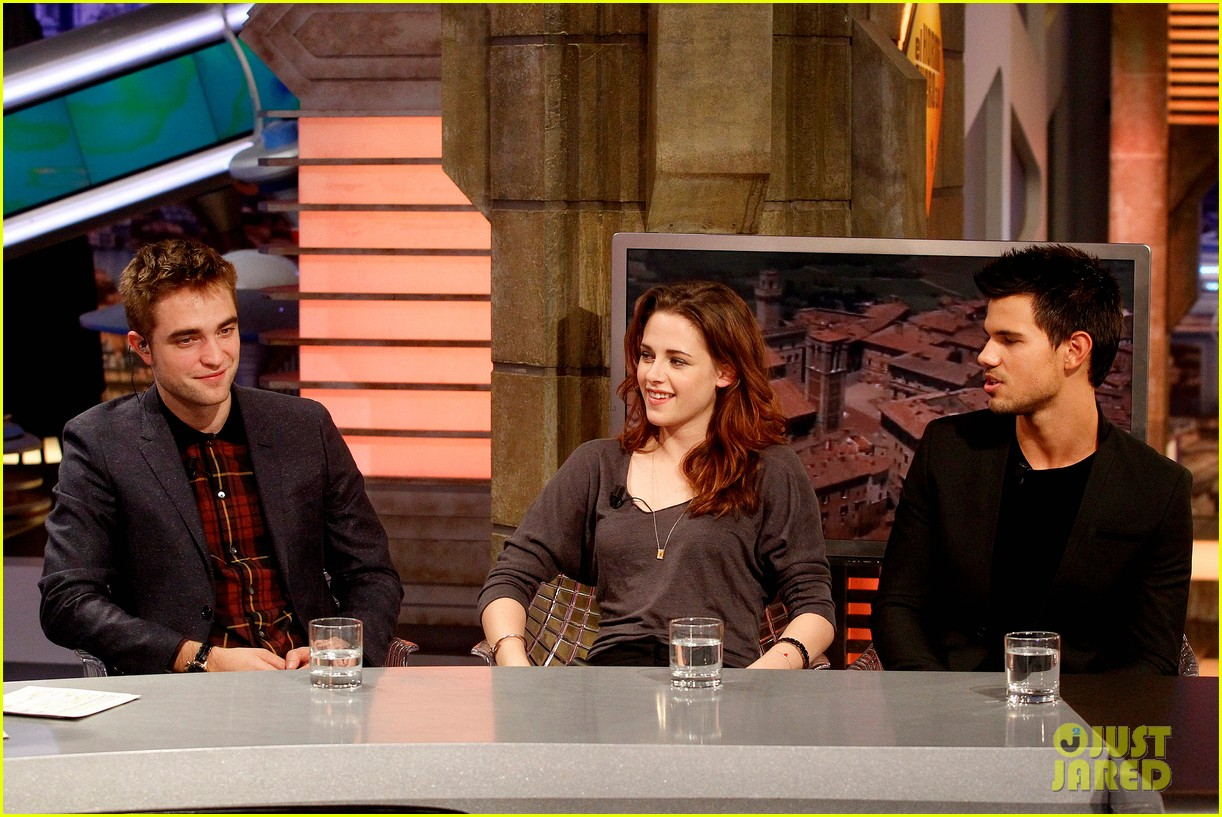 kristen stewart robert pattinson el hormiguero in spain 20