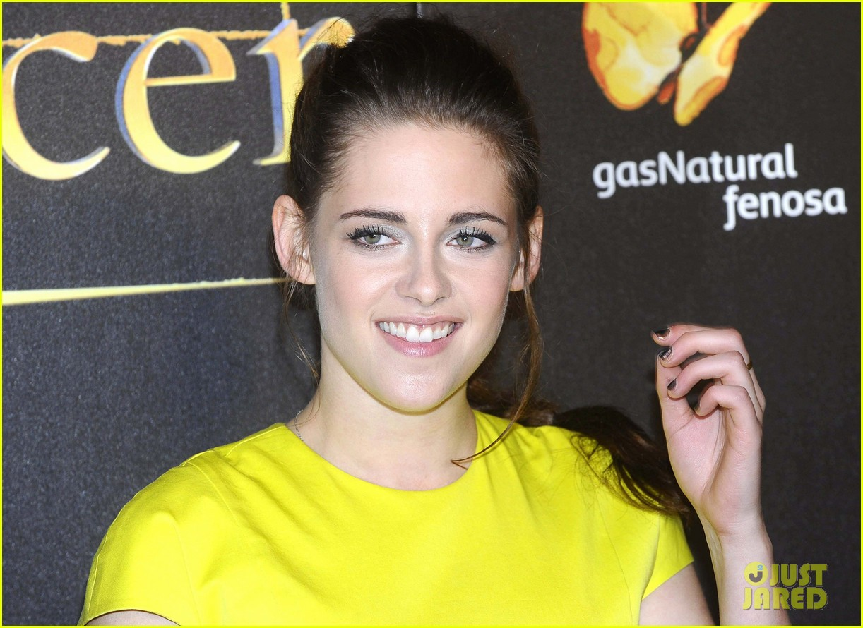 kristen stewart robert pattinson breaking dawn madrid premiere 032758316