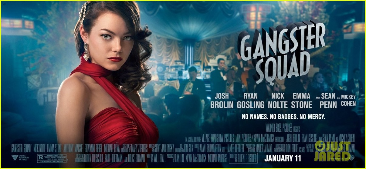 emma stone new movie 43 gangster squad posters 022756710