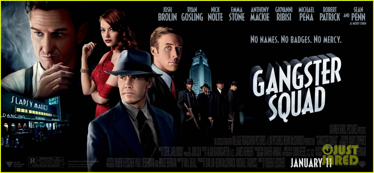 emma stone new movie 43 gangster squad posters 102756718