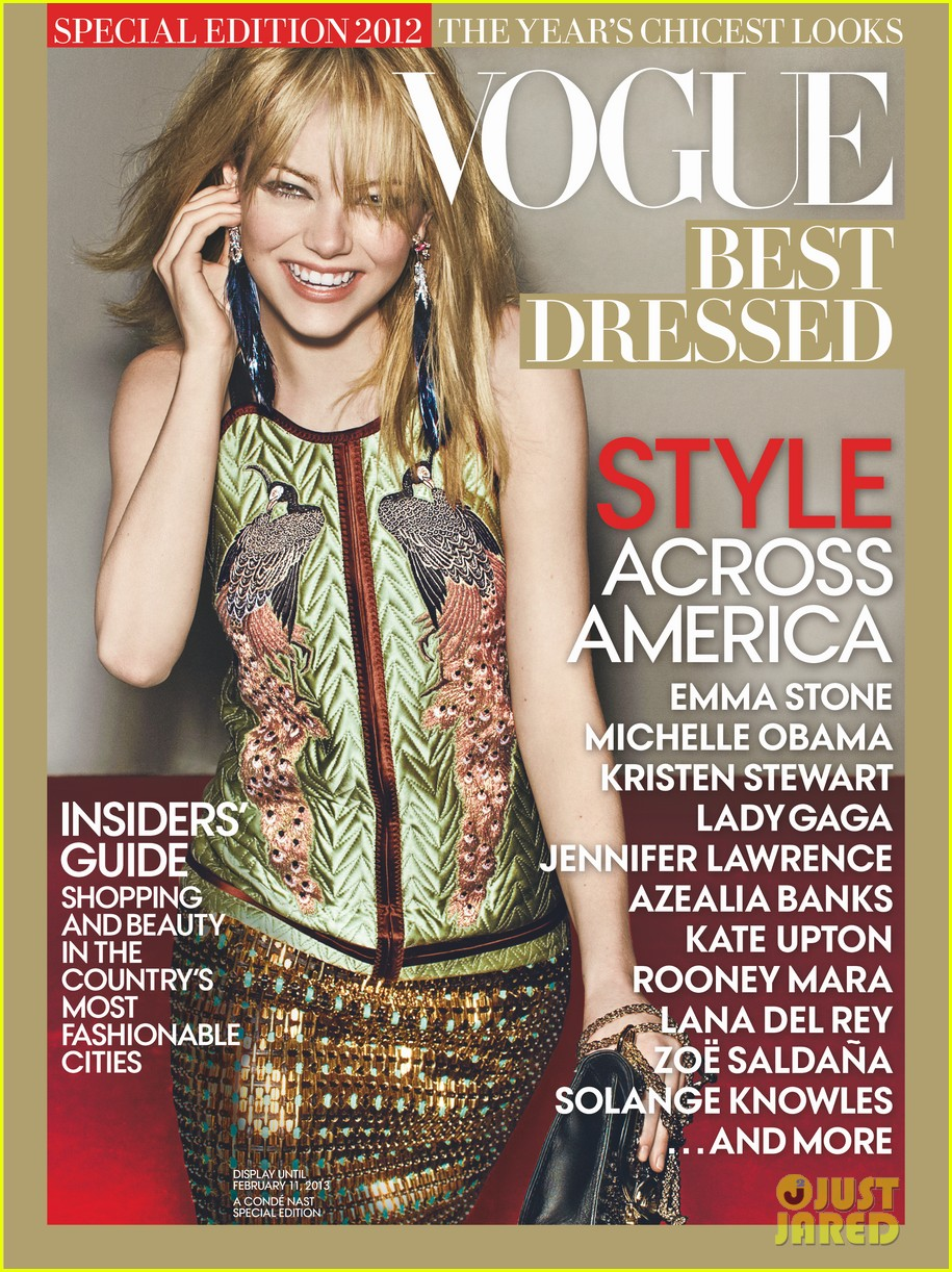 emma stone covers vogue best dressed 032757435