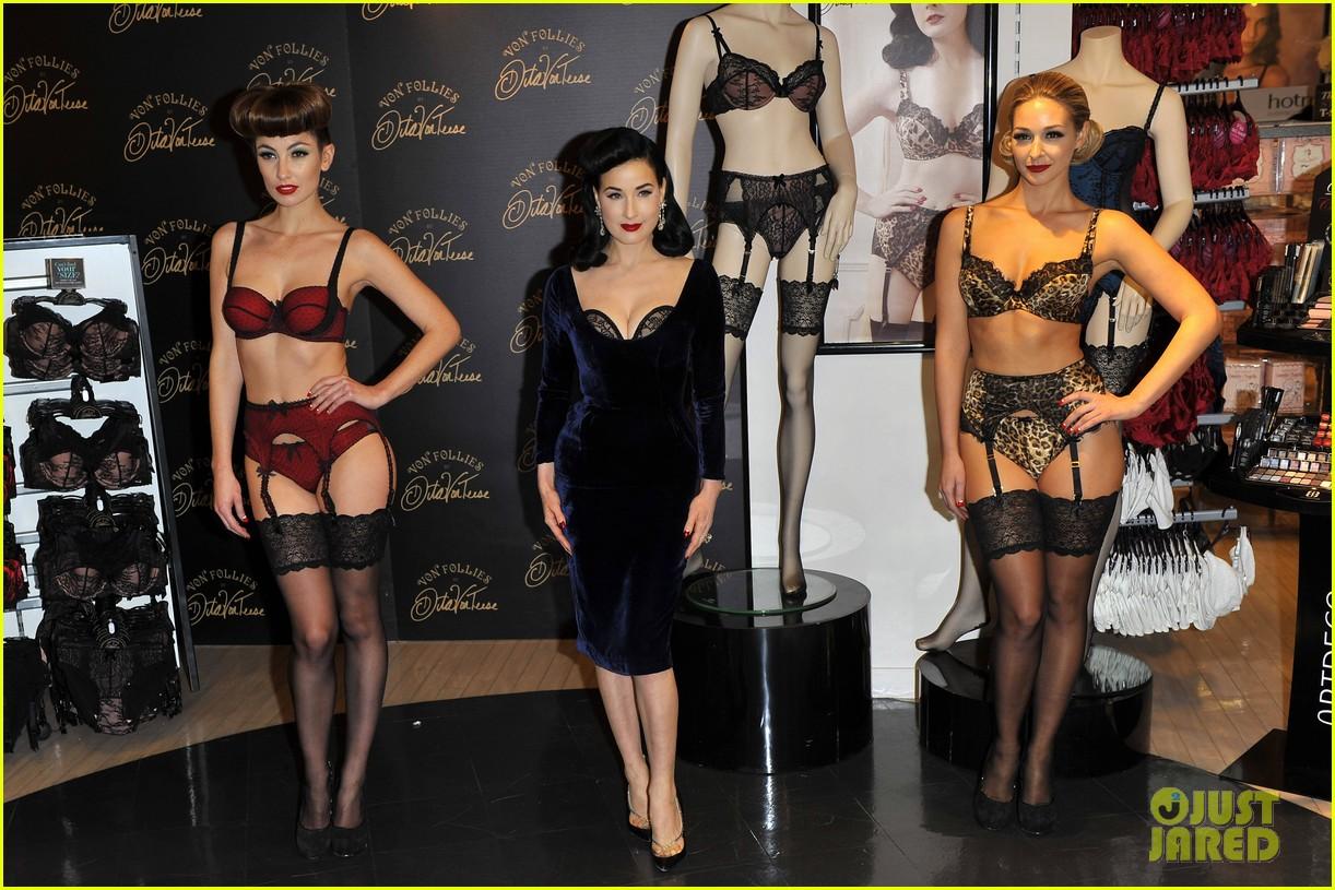 dita von teese von follies lingerie launch 012765167