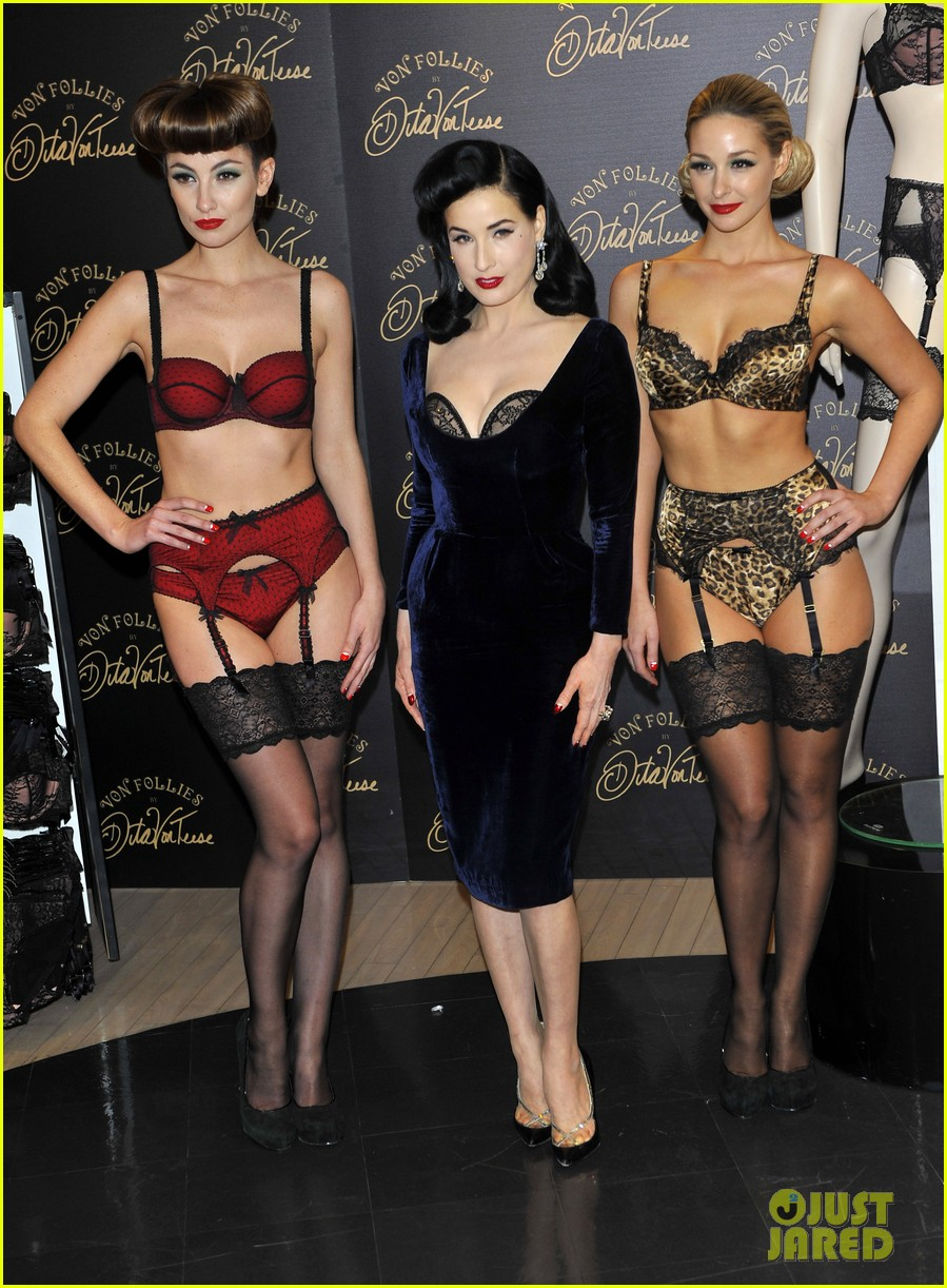 dita von teese von follies lingerie launch 032765169