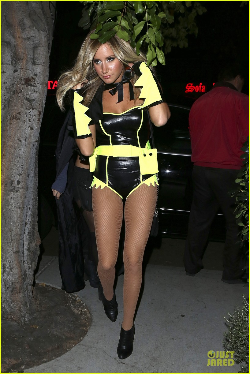ashley tisdale batman for halloween 052749281