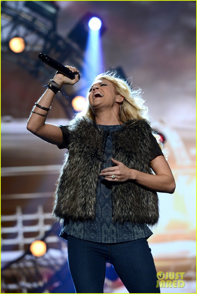 carrie underwood amas rehearsals 2012 032759864
