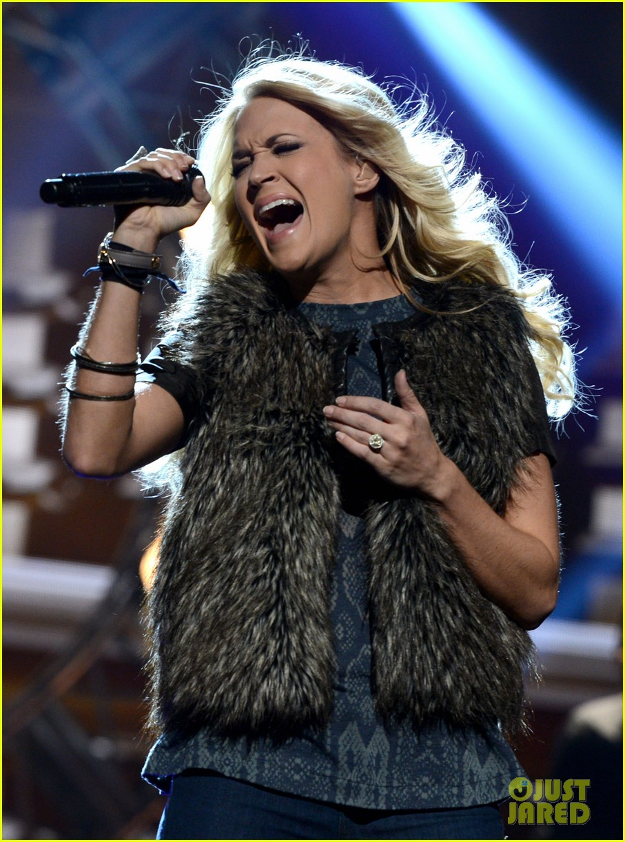 carrie underwood amas rehearsals 2012 062759867