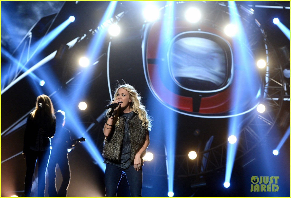 carrie underwood amas rehearsals 2012 072759868